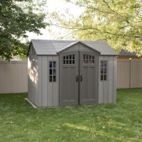 Lifetime 10' x 8' Rough Cut Outdoor Storage Shed - Sam's Club