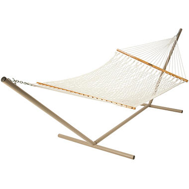 Polyester Rope Hammock - White