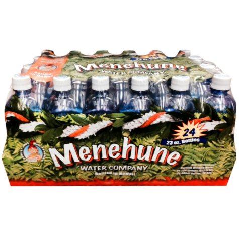 Menehune Purified Water, (23 oz bottles, 24 ct.)