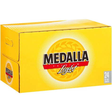 Medalla Premium Light Beer (12 fl. oz. bottles, 24 pk.)