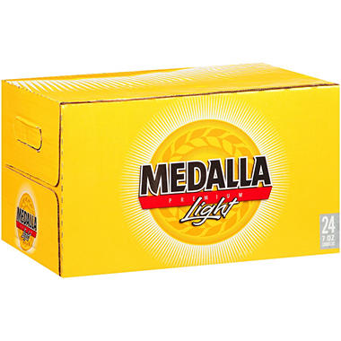 Medalla Premium Light Beer (7 fl. oz. bottles, 24 pk.)