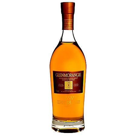 Glenmorangie 18-Year-Old Scotch Whisky (750 ml)
