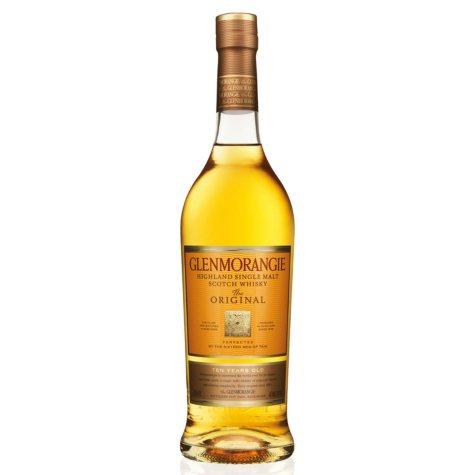 Glenmorangie 10 Year Old Single Malt Scotch Whiskey (750ml)