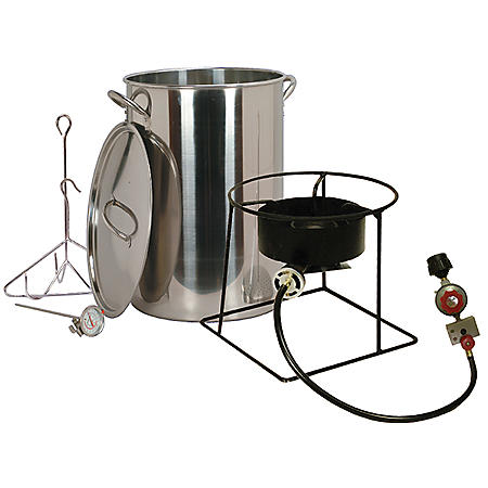 King Kooker Turkey Fryer with 30-Qt. Stainless-Steel Pot