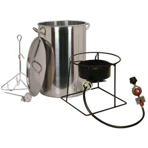 King Kooker Turkey Fryer with 30-Qt. Stainless-Steel Pot