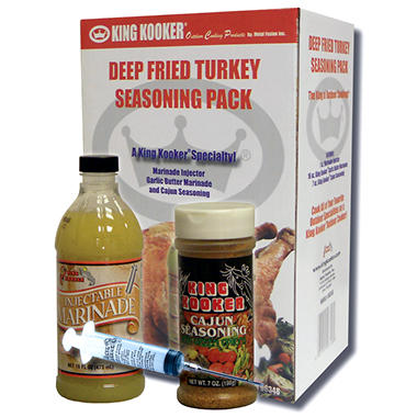 King Kooker Deep Fried Turkey Seasoning Pack