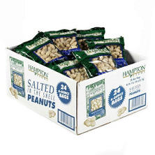Hampton Farms In Shell Peanuts (6 oz. bags, 24 ct.)