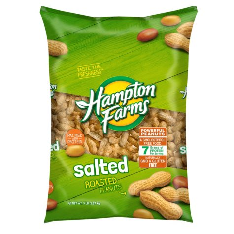 Hampton Farms Salted In-Shell Peanuts (5 lbs.)
