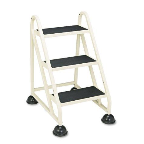 Cramer 3-Step Stop-Step Aluminum Ladder - Beige