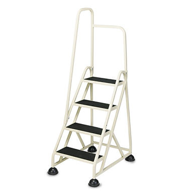Cramer 4-Step Aluminum Left Handrail Step Ladder
