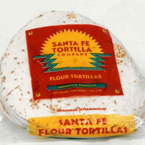 Santa Fe Tortilla Company Homestyle Flour Tortilla Wraps (12 ct., 2 pk)