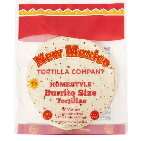 "New Mexico Tortilla Company 10"" Burrito-Size Tortillas (30 ct.)"