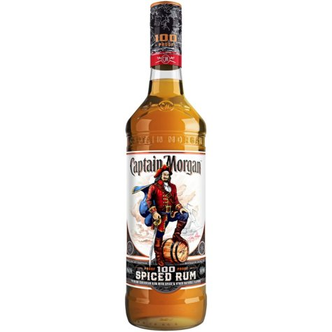 Captain Morgan 100 Proof Spiced Rum (750mL)