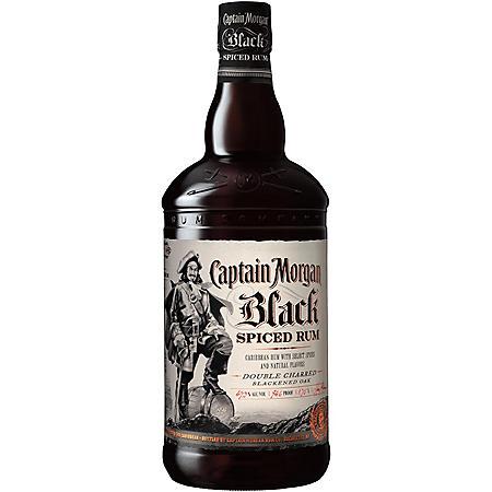 CAPTAIN MORGAN 1.75L RUM - SPICED BLACK