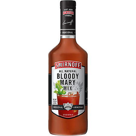 SMIRNOFF VODKA 1.75L W/BLDY MARY MIX 32OZ