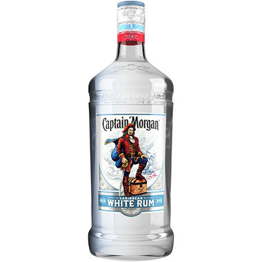 CAPTAIN MORGAN RUM WHITE 80 PROOF 1.75L
