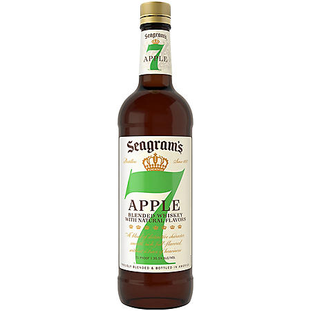 Seagram's 7 Crown Orchard Apple American Blended Whiskey (750mL)