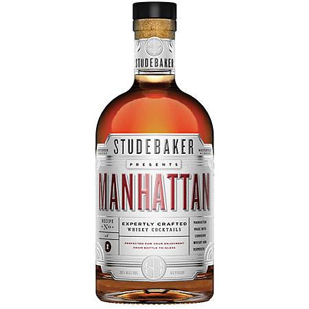 Studebaker Manhattan Whisky Cocktails (750 ml)