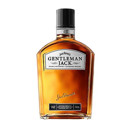 Jack Daniel's Gentleman Jack Whiskey (750 ml)