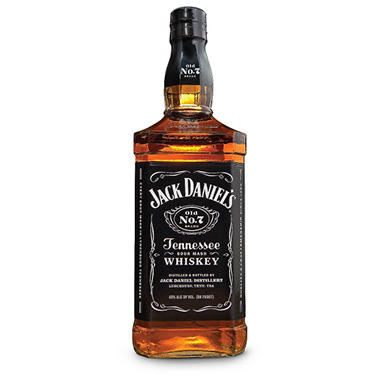 Jack Daniel's Black Label Tennessee Whiskey (750 ml)