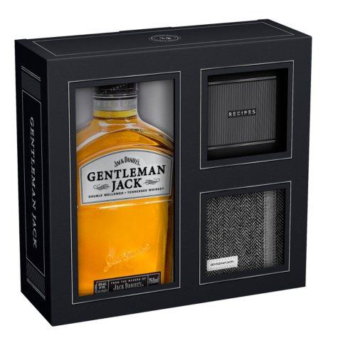 Jack Daniel's Gentleman Jack Whiskey & Coaster Set (750 ml)