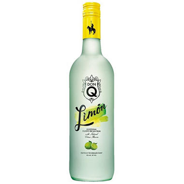 Don Q Lemon Flavored Rum - 750ml