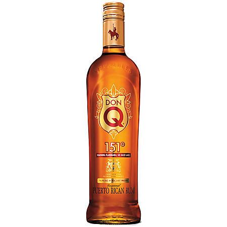 Don Q 151 Puerto Rican Rum (750 ml)
