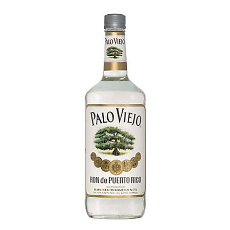 Palo Viejo Ron De Puerto Rico Blanco Rum (1 L)