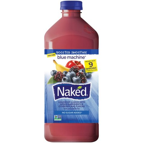 Naked Juice Blue Machine Fruit Smoothie (72 oz.)