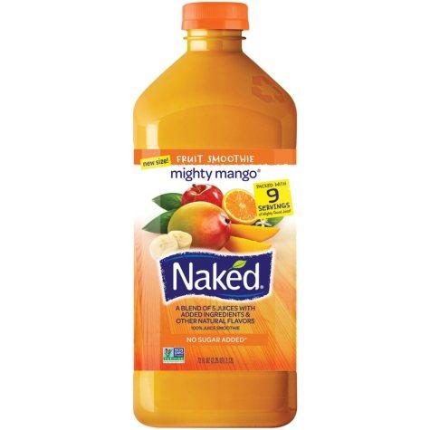 Naked Juice Mighty Mango Fruit Smoothie (72 oz.)
