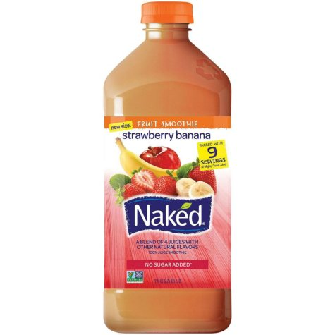 Naked Juice Strawberry Banana Fruit Smoothie (72 oz.)