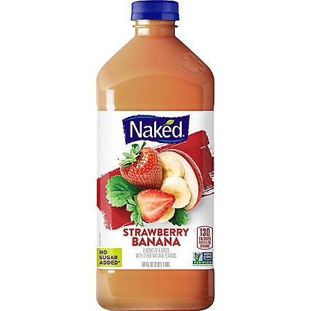 Naked Juice Strawberry Banana (64 oz.)