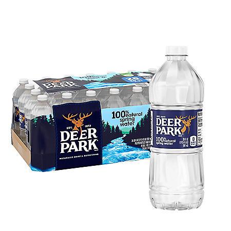 Deer Park 100% Natural Spring Water (20oz / 28pk)