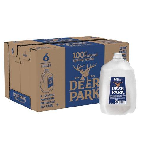 Deer Park Natural Spring Water (1 gal. jugs, 6 pk.)