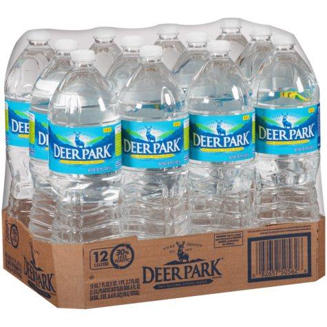 Deer Park Natural Spring Water (1.5 L bottles, 12 pk.)