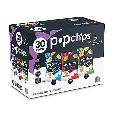 Popchips Variety Box (0.8 oz., 30 ct.)