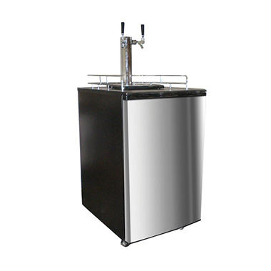 Nostalgia Commercial Twin-Tap Double Kegerator