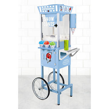 Nostalgia Old-Fashioned Snow Cone Cart