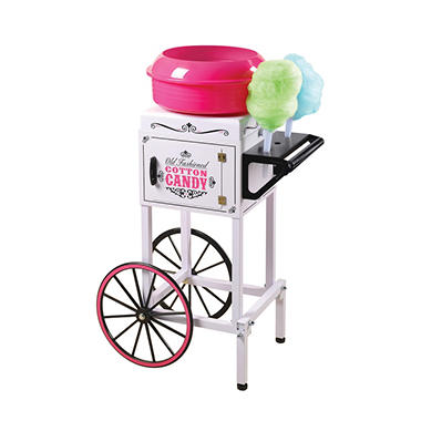 Nostalgia Vintage Collection Commercial Cotton Candy Cart