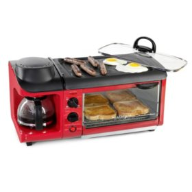 Nostalgia Retro Series 3-in-1 Breakfast Station