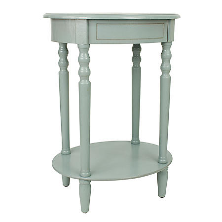 Simplify Oval Accent Table (Assorted Colors)