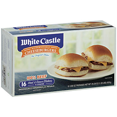 White Castle® Microwaveable Cheeseburgers - 29.28 oz.