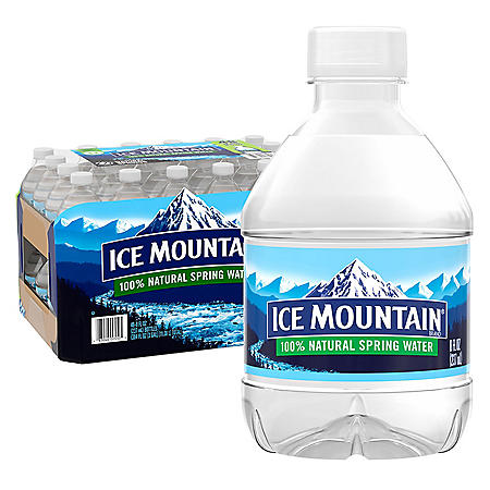 Ice Mountain 100% Natural Spring Water (8oz / 48pk)