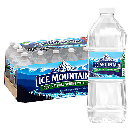 Ice Mountain 100% Natural Spring Water (20oz / 28pk)