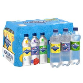 Ice Mountain Sparkling Spring Water, Assorted Flavors (16.9 oz., 24 pk.)
