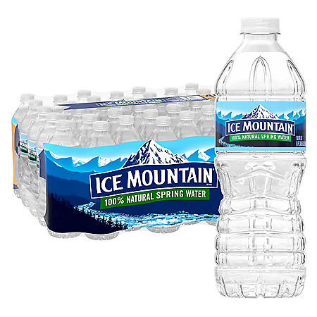 Ice Mountain 100% Natural Spring Water (16.9oz / 40pk)