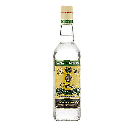 Wray & Nephew White Overproof Rum (750 mL)