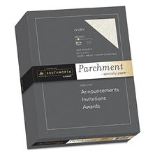 Southworth - Fine Parchment Paper, 24lb, Ivory or Gold - Ream
