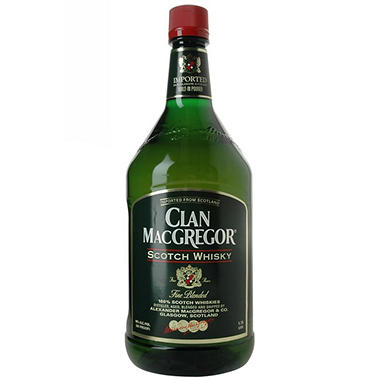 +CLAN MACGREGOR SCOTCH WHISKY 1.75L