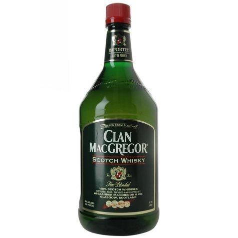 +CLAN MACGREGOR SCOTCH WHISKY 1.75L